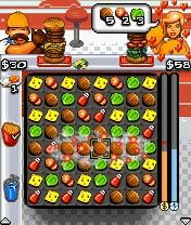 Download free mobile game: Burger Rush - download free games for mobile phone.