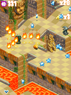 Mobile game Tropical madness - screenshots. Gameplay Tropical madness.
