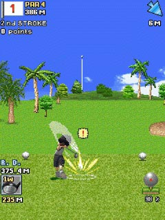 Download free mobile game: Everybody's Golf Mobile - download free games for mobile phone.