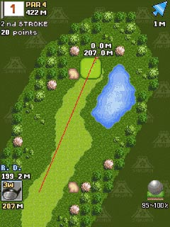 Download free game for mobile phone: Everybody's Golf Mobile - download mobile games for free.