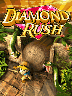 Download free Diamond rush - java game for mobile phone. Download Diamond rush