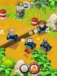 Download free game for mobile phone: Smash Kart Racing - download mobile games for free.