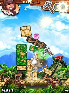Download free game for mobile phone: Diamond Tumble - download mobile games for free.