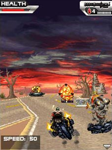 Jeu mobile Le Terminateur: Le Salut - captures d'écran. Gameplay Terminator. Salvation.