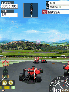 Download free game for mobile phone: Ferrari World Championship 2009 - download mobile games for free.