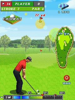 Download free mobile game: Pro Golf 2010. World Tour - download free games for mobile phone.