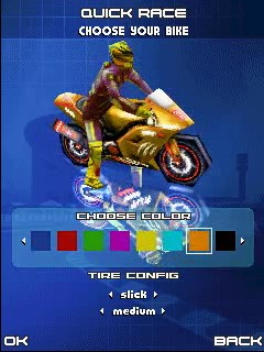 Download free mobile game: 3D Moto Racing Evolved - download free games for mobile phone.