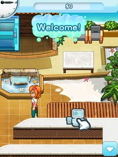 Download free mobile game: Sally\'s Spa - download free games for mobile phone.