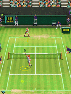 Download free game for mobile phone: Wimbledon 2009 - download mobile games for free.