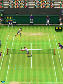 Mobile game Wimbledon 2009 - screenshots. Gameplay Wimbledon 2009.