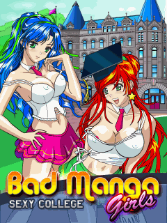 Bad Manga Girls: Sехy College