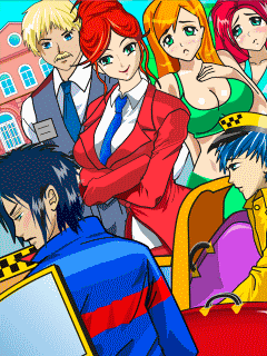 Download free mobile game: Bad Manga Girls: Sехy College - download free games for mobile phone.