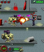 Download free game for mobile phone: Alien shooter - download mobile games for free.