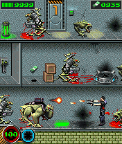 Mobile game Alien shooter - screenshots. Gameplay Alien shooter.