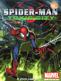 Download free Spiderman: Toxic City - java game for mobile phone. Download Spiderman: Toxic City
