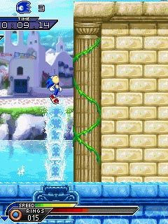 Mobile game Sonic: Unleashed - screenshots. Gameplay Sonic: Unleashed.