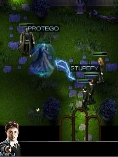 Jogo para celular Harry Potter and The Half - Blood Prince - capturas de tela. Jogabilidade Harry Potter e o Enigma do Príncipe.