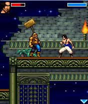 Скриншот java игры Prince of Persia: Sands of Time. Игровой процесс.