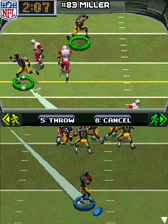 Jeu mobile NFL 2010 - captures d'écran. Gameplay NFL 2010.