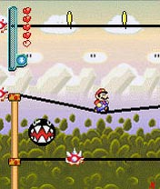 Mobile game Super Mario Planet - screenshots. Gameplay Super Mario Planet.
