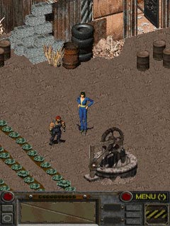 Mobile game Fallout - screenshots. Gameplay Fallout.