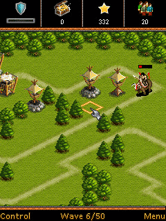 Mobil-Spiel Sid Meiers Zivilisation 4: Verteidiger der Stadttore - Screenshots. Spielszene Sid Meier's Civilization 4: Defenders of the Gates.