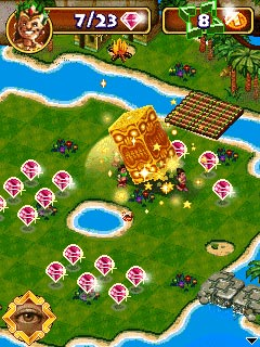 Download free mobile game: Diamond Islands 2 - download free games for mobile phone.