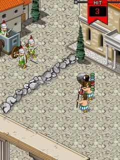 Download free game for mobile phone: A.D. XXVL Barbarians An The Gate - download mobile games for free.