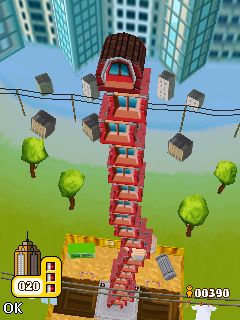 Jeu mobile Les Blocs de Construction Deluxe - captures d'écran. Gameplay Tower Bloxx Deluxe.