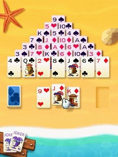 Download free game for mobile phone: Party Island Solitaire 16 Pack - download mobile games for free.