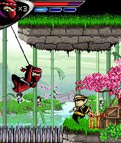 Mobile game 99 Ninjas - screenshots. Gameplay 99 Ninjas.