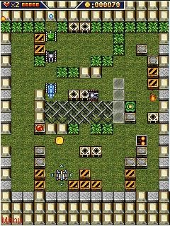 Mobile game Super tank - screenshots. Gameplay Super tank.