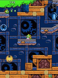 Download free game for mobile phone: Bubble Bobble Evolution - download mobile games for free.
