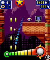 Download free game for mobile phone: Sonic The Hedgehog Golf - download mobile games for free.