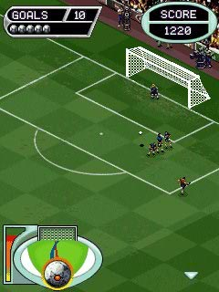 Download free game for mobile phone: Free Kick Championship - download mobile games for free.
