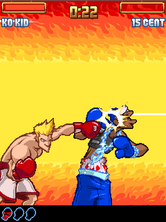 Mobile game Super KO boxing 2 - screenshots. Gameplay Super KO boxing 2.
