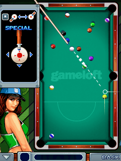 Jeu mobile Le Billard de Minuit 2 - captures d'écran. Gameplay Midnight pool 2.
