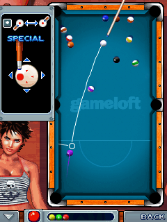Download free game for mobile phone: Midnight pool 2 - download mobile games for free.