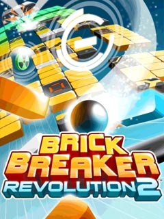 3d brick breaker revolution 2 java game for mobile. 3d brick.