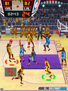 Download free mobile game: NBA Pro Basketball 2010 - download free games for mobile phone.