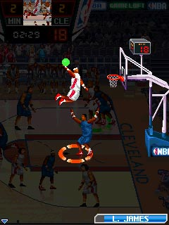 Download free game for mobile phone: NBA Pro Basketball 2010 - download mobile games for free.