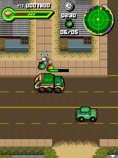 Download free mobile game: Trash Racer - download free games for mobile phone.