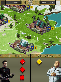 Jeu mobile La Guerre - captures d'écran. Gameplay War.