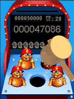 Download free game for mobile phone: Whac-a-Mole - download mobile games for free.