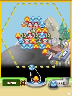 Jeu mobile La Ville Aérienne  - captures d'écran. Gameplay Bubble Town.