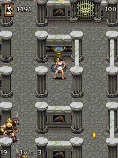 Mobile game Great Legends: The Minotaur - screenshots. Gameplay Great Legends: The Minotaur.