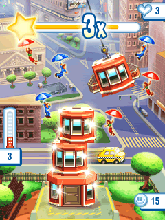 Download free mobile game: Tower Bloxx: New York - download free games for mobile phone.
