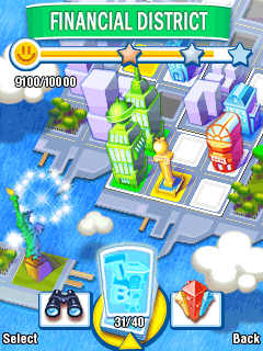 Download free game for mobile phone: Tower Bloxx: New York - download mobile games for free.