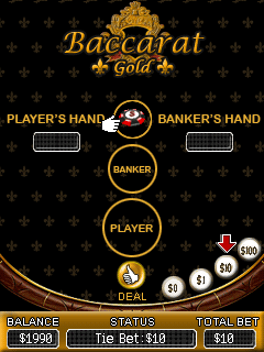 Download free mobile game: Baccarat Gold - download free games for mobile phone.
