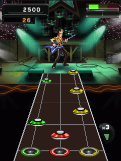 Download free game for mobile phone: Guitar Hero 5 Mobile - download mobile games for free.